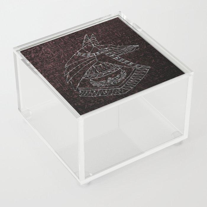 Anubis Egyptian God Acrylic Box