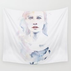pale color Wall Tapestry