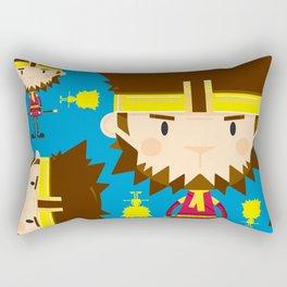 Cute Sun Wukong The Monkey King Pattern Rectangular Pillow