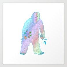 Rainbow Beast Art Print