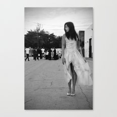 Emily In Video Canvas Print