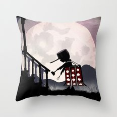 Dalek Kid Throw Pillow