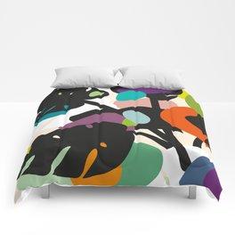 Monstera Big Leaves Comforters