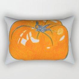 juicy yellow tomato Rectangular Pillow