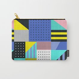 Patchwork Two Carry-All Pouch