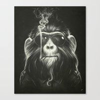 contact Canvas Prints featuring Smoke 'Em If You Got 'Em by Dr. Lukas Brezak