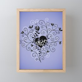 Mended Broken Heart Framed Mini Art Print