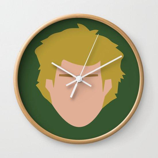 Star Wars Minimalism - Luke Skywalker Wall Clock