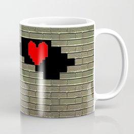 Breaking Heart Coffee Mug