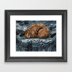The Lake House Framed Art Print