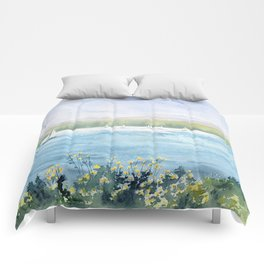 Cayuga Lake Regatta Comforters