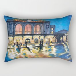 Denver's Union Station Rectangular Pillow