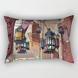 Arabian Lanterns  Rectangular Pillow