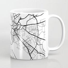 Rome Italy Street Map Minimal Coffee Mug