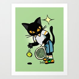 Tennis player Art Print
