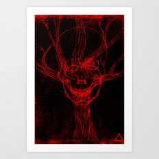 Apple Tree Death Art Print