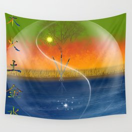 Feng Shui five elements Wall Tapestry