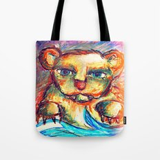 Sketchy Bear Tote Bag