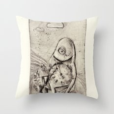 Something about Time Throw Pillow