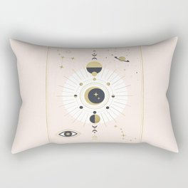 The Spring Moon Rectangular Pillow