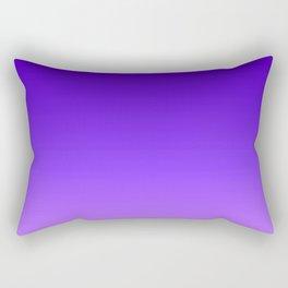 Blue Purple Ombre Rectangular Pillow