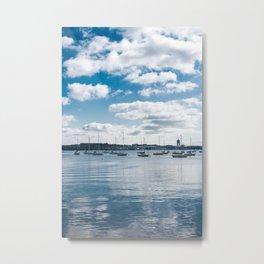 Boston Harbor Port Bahia Metal Print
