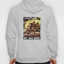 Buy War Bonds -- WW2 Propaganda Hoody