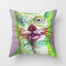 Dirty Bear Throw Pillow