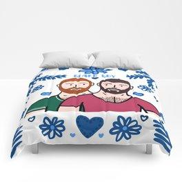 Beard Boy: Couple of Men - Karl & Daan Comforters