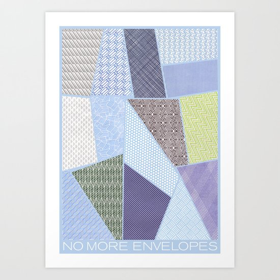 envelope series - 15 envelopes Art Print