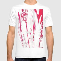 Calor MEDIUM White Mens Fitted Tee