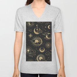 Astronomy Stars Unisex V-Neck