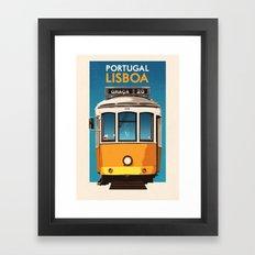Portugal - Lisbon Framed Art Print
