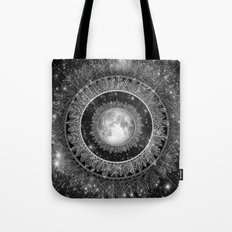 Major Tom (floating in my tin can, far above the Moon) Tote Bag