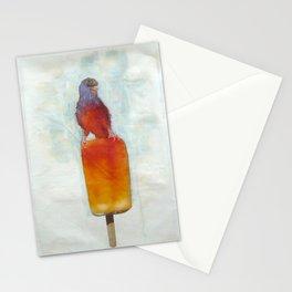 Orange Canary Popsicle Stationery Cards