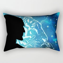In The Forests Of The Night Rectangular Pillow