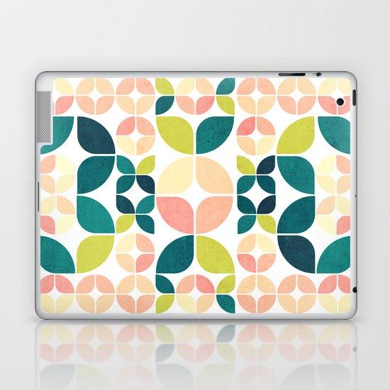 Rose Garden Pattern Laptop & iPad Skin