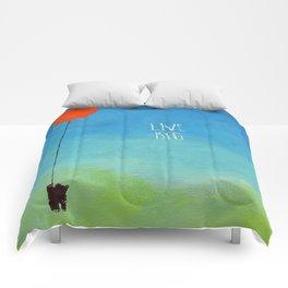 Live Big Comforters