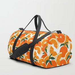 Orange Harvest - White Sporttaschen