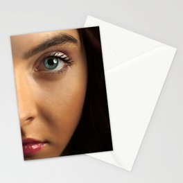 Woman's Eye Stationery Cards