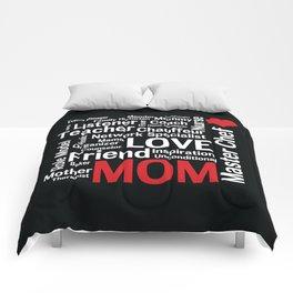 World's Best Mom Comforters