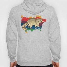 Waschbär-T-Shirt & Geschenk Hoody