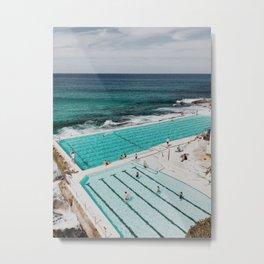 Bondi Icerbergs Metal Print