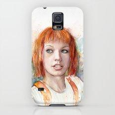 Leeloo Portrait Fifth Element Art Slim Case Galaxy S5
