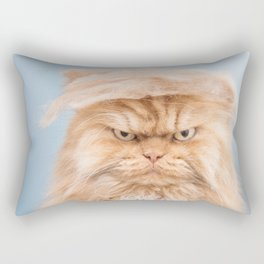 Trumpy Cat,best gift for cat lovers Rectangular Pillow