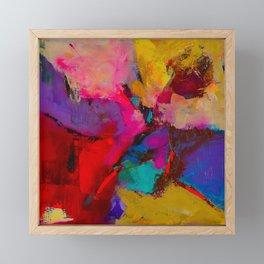 Shades of Colors Framed Mini Art Print