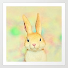 Some Bunny... Art Print