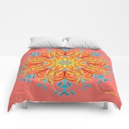 Gracias a la Vida (Coral) Comforters