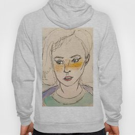Freckled girl Hoody