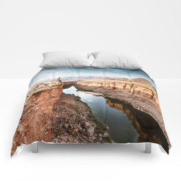 on top of the canyonland Comforters